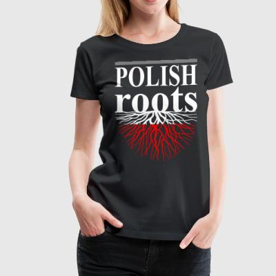 Polish Roots Tshirt - Women's Premium T-Shirt