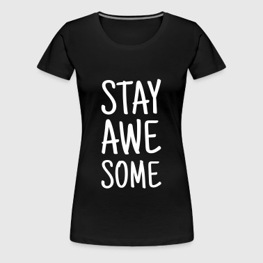STAT AWESOME - Women's Premium T-Shirt
