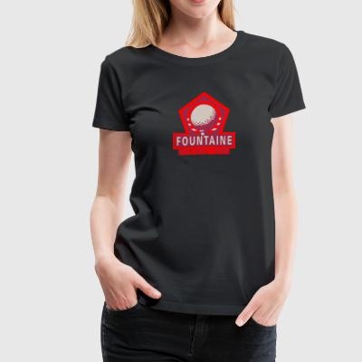 Fountaine High Golf Team - Women's Premium T-Shirt