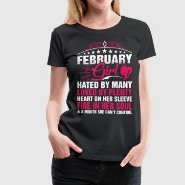 February Girl Cant Control - Women's Premium T-Shirt