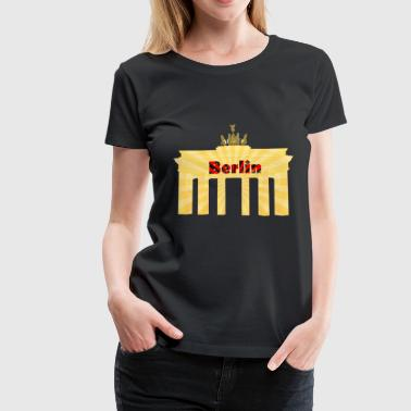 Berlin Capital City of Germany - Women's Premium T-Shirt