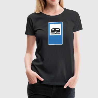 Road_sign_trailer - Women's Premium T-Shirt