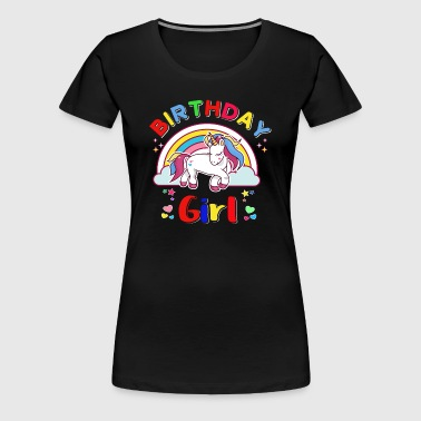 Unicorn Girl - Women's Premium T-Shirt