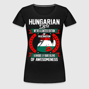 Hungarian Girls Of Awesomeness - Women's Premium T-Shirt