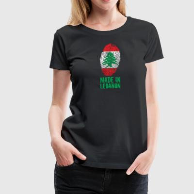 Made in Lebanon / اللبنانية - Women's Premium T-Shirt