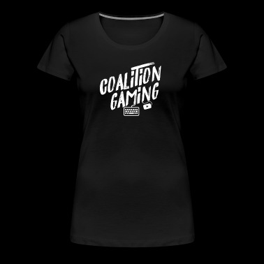 CG PC Gaming WHITE LOGO - Women's Premium T-Shirt