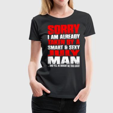 Smart And Sexy July Man - Women's Premium T-Shirt