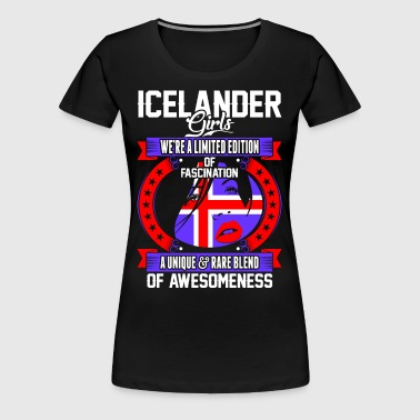 Icelander Girls Of Awesomeness - Women's Premium T-Shirt