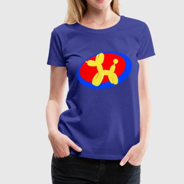 Balloon Dog Balloon Animals - Balloon Dog - Women's Premium T-Shirt