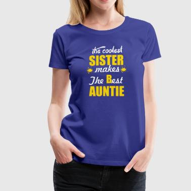 AUNTIE designs - Women's Premium T-Shirt
