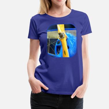 Aerobatic Aircraft Great Lakes Sport Trainer - Women's Premium T-Shirt