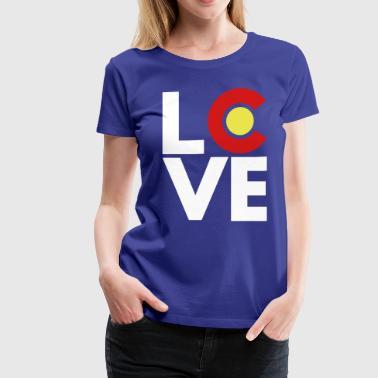 Colorado Love - Women's Premium T-Shirt