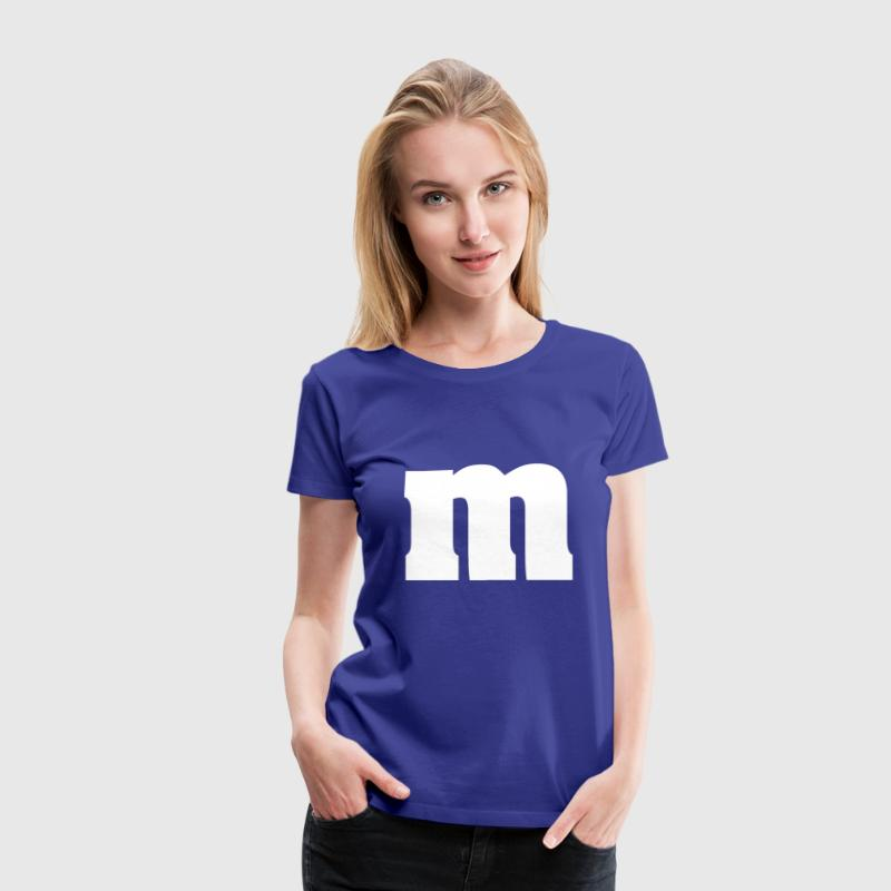 m & m colors - Women's Premium T-Shirt