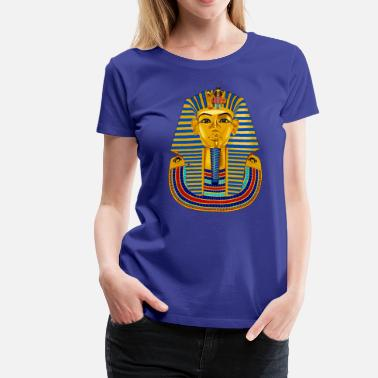 King Tut Large King Tut Mask - Women's Premium T-Shirt
