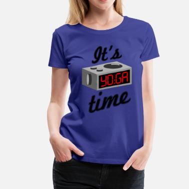 It Yoga Time yoga time - Women's Premium T-Shirt