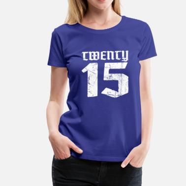 Twenties Twenty 2015 - Women's Premium T-Shirt