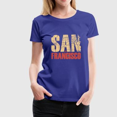 San Francisco - Women's Premium T-Shirt