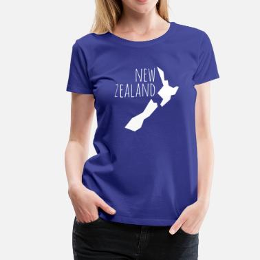 New Zealand new zealand - Women's Premium T-Shirt