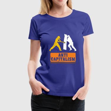 Anti Capitalism communism gift idea christmas - Women's Premium T-Shirt