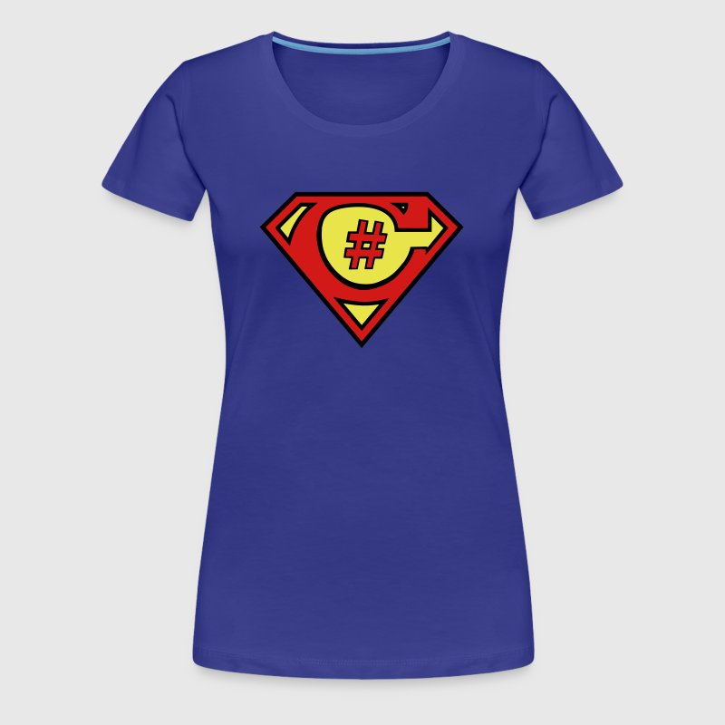 C# Hero Woman - Women's Premium T-Shirt