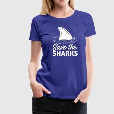 Save The Sharks - Women's Premium T-Shirt