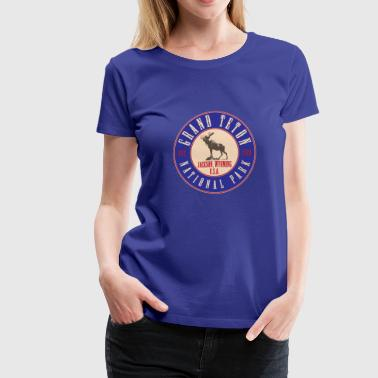 Grand Teton National Park - Women's Premium T-Shirt