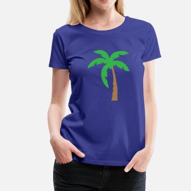 Palm Palm Tree - Women's Premium T-Shirt