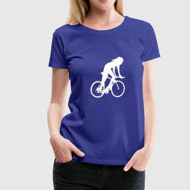 Cycling Cycling woman 1 - Women's Premium T-Shirt