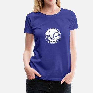 The Crystal Ship Ship Inside Crystalball - Women's Premium T-Shirt