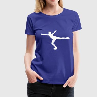Ice Skating - Women's Premium T-Shirt