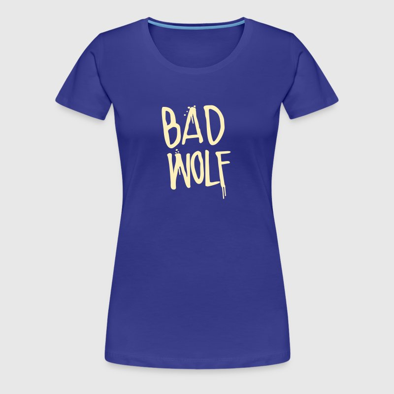Dr. Who: Bad Wolf - Women's Premium T-Shirt