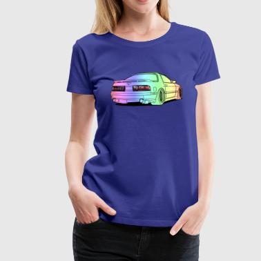 old rx7 colourful - Women's Premium T-Shirt