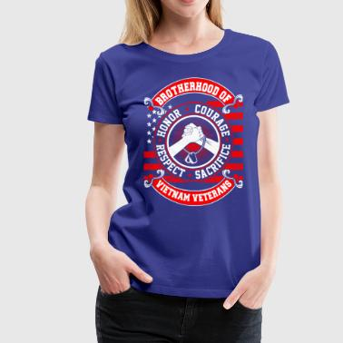 Brotherhood Vietnam Veterans - Women's Premium T-Shirt