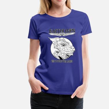 Earthdawn T'Skrang: 8 Days of Name-Givers (Womens) - Women's Premium T-Shirt