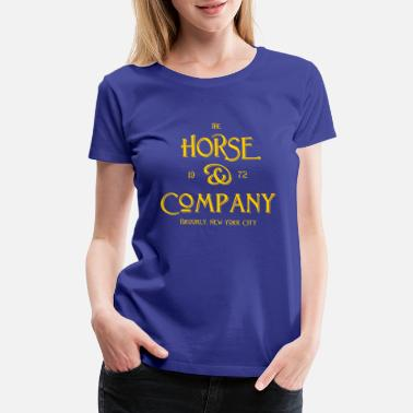 Equestrian Sports The Horse and Company - 1972 - Brooklyn - New York - Women's Premium T-Shirt