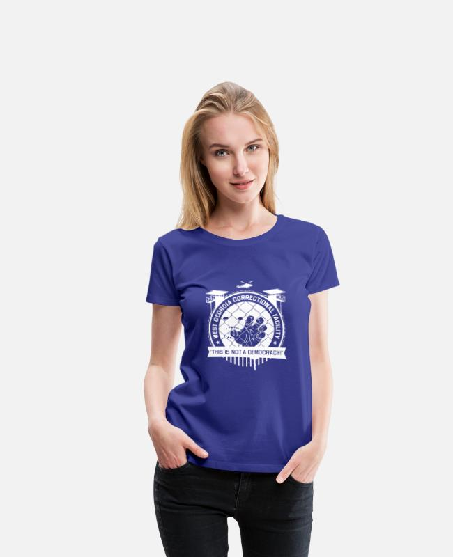 Nature T-Shirts - New Design West Georgia Correctional Facility - Women's Premium T-Shirt royal blue