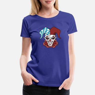 Grin Clown Wicked Common Came creepy horror gift - Women's Premium T-Shirt