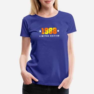 1988 Limited Edition 1988 Limited Edition - Women's Premium T-Shirt