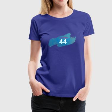 Lucky Number 44 - Women's Premium T-Shirt