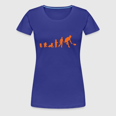 evolution squash racket 2 - Women's Premium T-Shirt