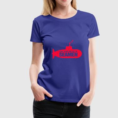 Long hard and full of seamen - Women's Premium T-Shirt