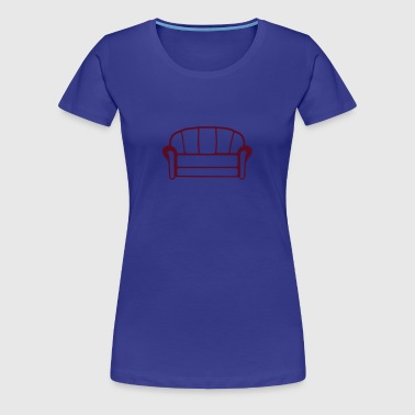 Couch - Women's Premium T-Shirt