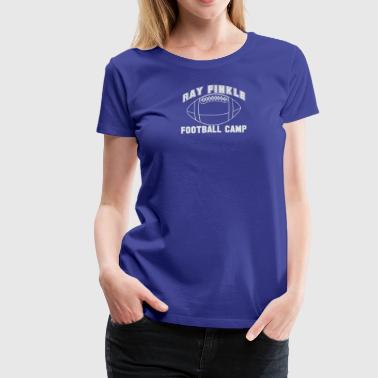Ray Finkle Football Camp Laces Out - Women's Premium T-Shirt