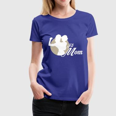 fit mom 1 - Women's Premium T-Shirt
