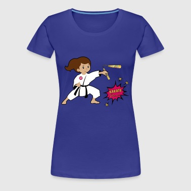 Karate princess - Women's Premium T-Shirt