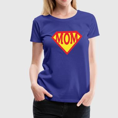 Mothers day superhero super mom tshirt - Women's Premium T-Shirt