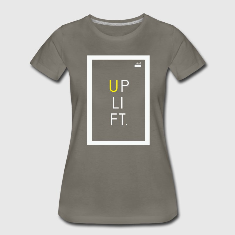 I AM - UPLIFT - Women's Premium T-Shirt