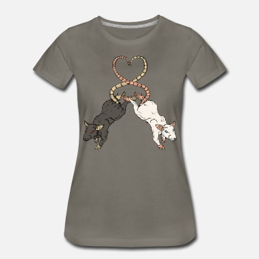 Rat Love Rat Love - Women's Premium T-Shirt