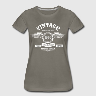 Vintage Perfectly Aged 1965 - Women's Premium T-Shirt