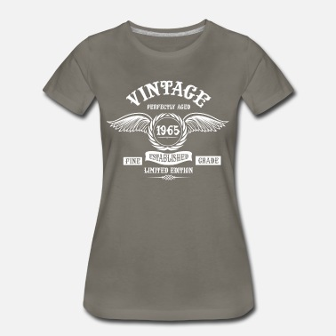 Aged To 1965 Vintage Perfectly Aged 1965 - Women's Premium T-Shirt